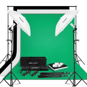 Craphy Photo Studio Umbrella Lighting Kit