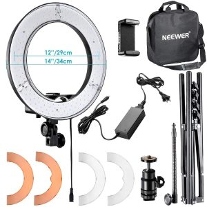 Neewer RL-12 LED Ring Light for Makeup and Streaming