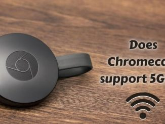 Does Chromecast support 5GHz